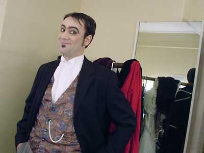 Dan as Kochkaryov from Gogol's Marriage