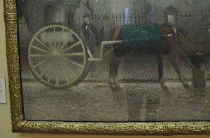 Carriage and Horse, by some French man living in Manchester