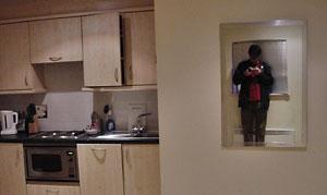 Dan in the mirror