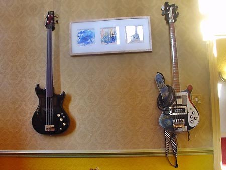 Two Basses and Three Pictures by Lola